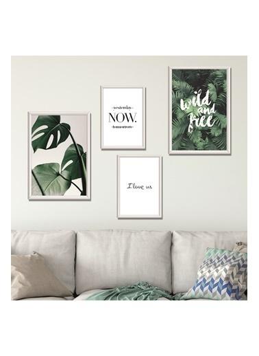 Lyn Home & Decor Now Çerçeveli Poster 4 Lü Tablo 2 Adet 23,5X33,5 2 Adet 17,5X23,5 Beyaz